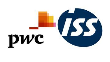 Logo PWC / ISS - Gastvrij Werken klantbeleving gastvrijheid patiënt tevredenheid patiëntgerichtheid